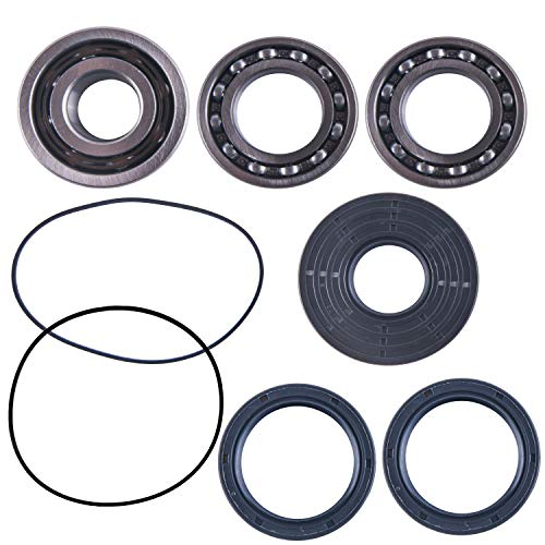 East Lake Axle front differential bearing & seal kit compatible with Polaris RZR 570/800 / 900/1000 2011 2012 2013 2014 2015 ()