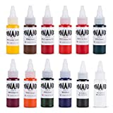 Dynamic Color tattoo ink set of all 1 oz colors Made in USA Set 2