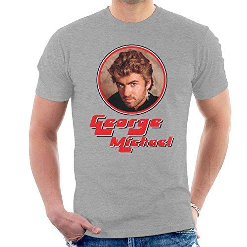 Icon George (George Michael Retro Pop Icon Men's T-Shirt)