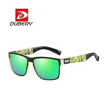Elaco DUBERY - Gafas de Sol para Hombre, Estilo Retro ...
