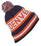 US Cities Denver Colorado Champions Cuff Beanie Knit Pom Pom Hat Cap