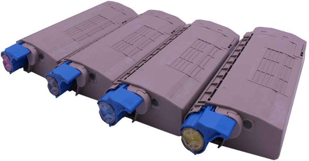 HHRONG Suitable for Oki 44059136 Color Toner Cartridge Compatible with C810 C810n C830 C830n Laser Printer Toner Cartridge 4colors Optional Genuine Supplies-4colors