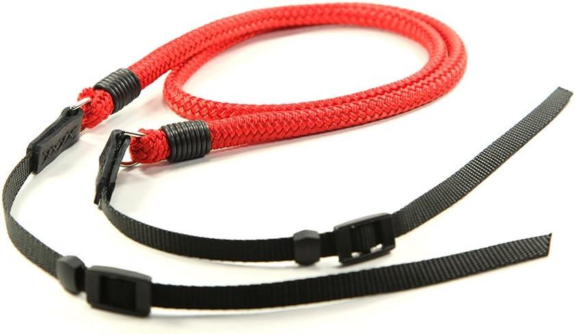 Lance Camera Straps DSLR Strap Cord Camera Neck Strap 48in Red