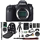 Cheap Canon EOS 6D Digital SLR Camera With Wifi Body Only + 64GB SDXC Card + Deluxe Tripod + Pro Monopod + SLR Backpack + Spare LP-E6 Battery + Remote Control + SD Reader & More – International Version
