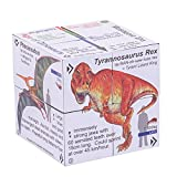 Little fingers and curious minds will be in awe of the ZooBooKoo Educational Dinosaur Cube Book as they follow the arrows, turning the book in all directions. With each turn youngsters will reveal a different dinosaur including the Tyrannosau...