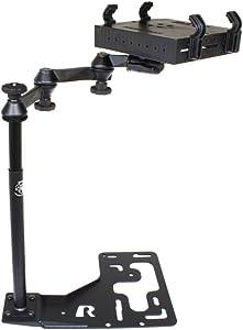 Universal No-Drill(TM) Laptop Mount for Freightliner Trucks, International Trucks, Kenworth Trucks, Mack Trucks, Peterbilt Trucks & Volvo Trucks