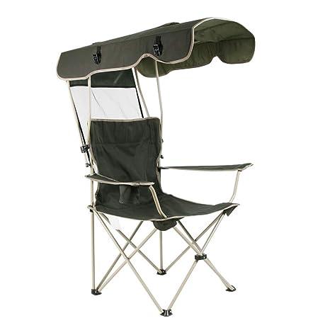 Nosterappou Sombrilla portátil Silla de playa para acampar ...
