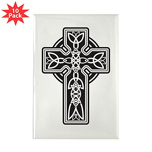 Rectangle Magnet (10 Pack) Celtic Cross ()