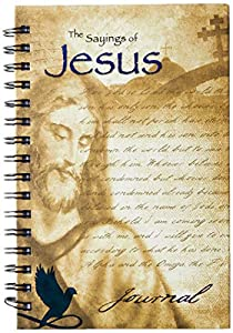 Office Product Wire-o Journal - Jesus - Quote - Medium - Lined both Sides Book