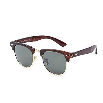 TDPYT Gafas De Sol Plegables Vintage con Forma De Uña De ...