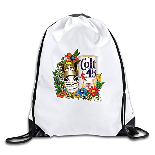 lhlkf-colt-45-gold-donkey-one-size-fashion-drawstring-bags