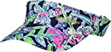 Lilly Pulitzer Women's It's A Match Visor Bright Navy Sway This Way Accessories Small One Size