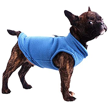 Cara Mia Dogwear Dog Fleece Harness Vest Jumper Sweater Coat For