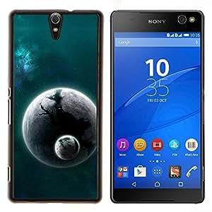 LECELL--Funda protectora / Cubierta / Piel For Sony Xperia C5 Ultra -- Mundo extranjero Planet Cosmos Espacio Universo polvo --