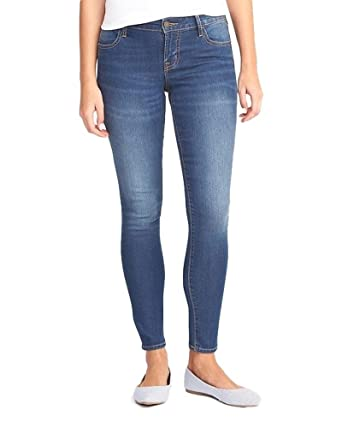 2f89f2832d4 Old Navy Super-Skinny-Ankle-Mid-Rise Jeans for Women (6) at Amazon ...