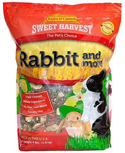 Sweet Harvest Rabbit And More Rabbit Food