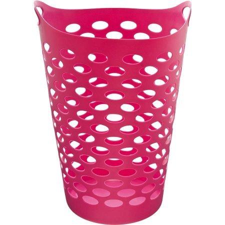 Starplast Tall Flex Laundry Basket in Fuchsia Set of 2