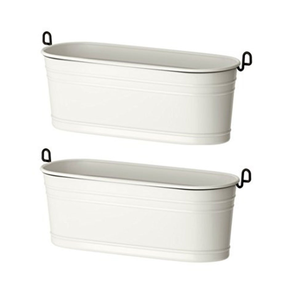 IKEA Steel Condiment Stand, White/black (White/black, 2)