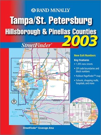 Rand McNally Tampa/St. Petersburg, Hillsborough and Pinellas Counties 2003: Streetfinder
