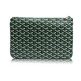 Stylestys Designer Clutch Purses for Women, Pu Envelope Fashion Clutch Bag, Women Handbag (Medium, Green)
