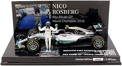 Mercedes-Benz 2016 F1 AMG PETRONAS W07 HYBRID #6 Nico Rosberg Car Model 1:43 Toy