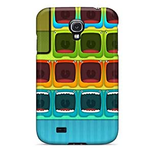 Galaxy S4 Cases Covers - Slim Fit Tpu Protector Shock Absorbent Cases (monster Hd 8)