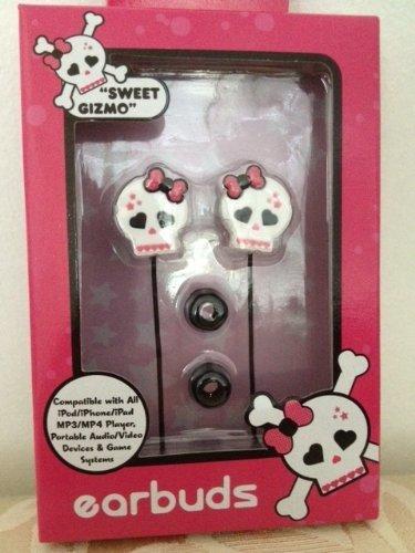 Sweet Gizmo SKL-1000-JCP Skull Earbuds ()