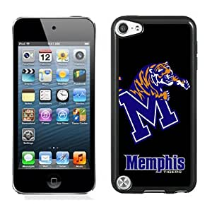 Fashionable And Unique Designed With NCAA American Athletic Conference AAC Football Memphis Tigers 4 Protective Cell Phone Hardshell Cover Case For iPod 5 Phone Case Black