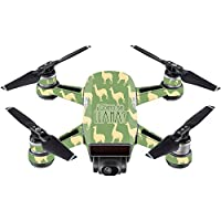 Skin For DJI Spark Mini – Llama | MightySkins Protective, Durable, and Unique Vinyl Decal wrap cover | Easy To Apply, Remove, and Change Styles | Made in the USA