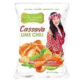 Cassava Chips | Gluten-Free, Vegan (3oz) – 12 Pack – Flavor: Lime Chili – Wai Lana
