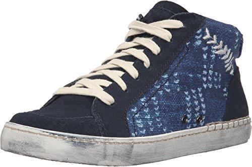 Dolce Vita Women's Zane High Top Sneakers, Blue Multi, 6 B(M) US