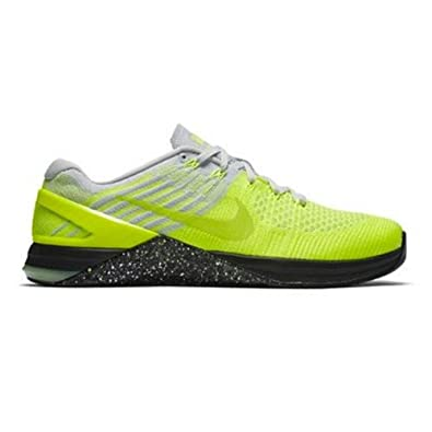 8dcb826be7a Nike Metcon DSX Flyknit Sz 10 Mens Cross Training Volt Ghost Green-Pure  Platinum-Black Shoes  Buy Online at Low Prices in India - Amazon.in
