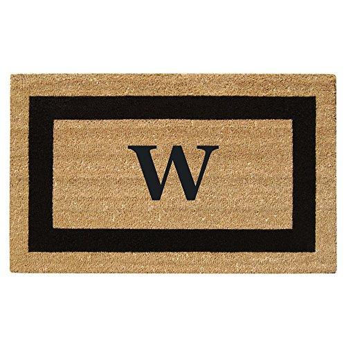 (Nedia Home Monogrammed W Superscraper Single Picture Frame, 20