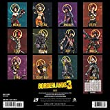 Borderlands 3 2020 Wall Calendar