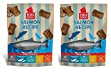 PLATO Dog Treats -Salmon Real Strips- 16 oz (2 pack)
