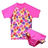 TFJH Girls Swimsuit 2-12 Years UPF 50+ UV