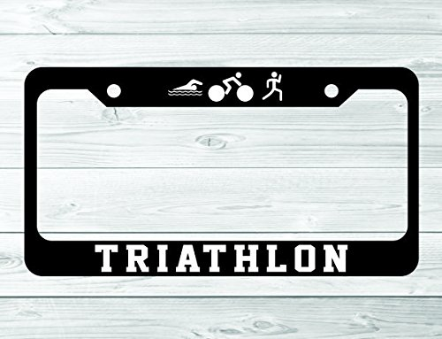 Triathlon License Plate Frame - Store Triathlon Canada
