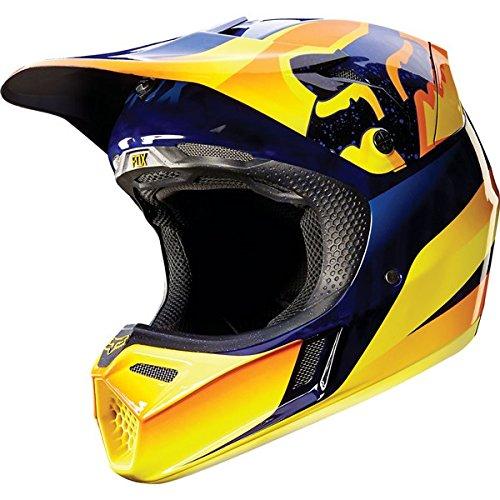 Fox Racing Flight Men's V3 Motocross Motorcycle Helmet - Orange / Medium