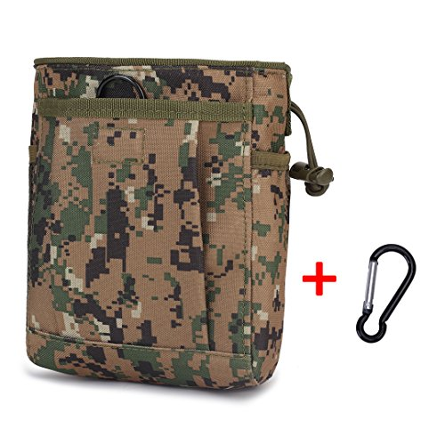 Black Hawk Commandos Polyester Outdoor Sport Pouch Small Recyclable Drawsting Climbing Chalk waist Bag