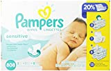 Pampers Sensitive Wipes 26x Jumbo Size Pack 1616 Count