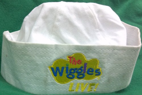 The Wiggles White Hat, Great Halloween Dress up Accessory Sailing Around the World ()