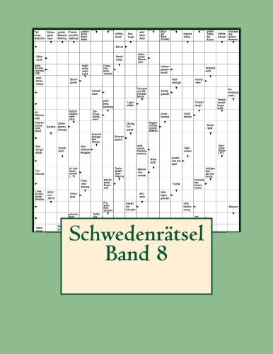 Schwedenratsel Band 8  [Schwedenratsel] (Tapa Blanda)