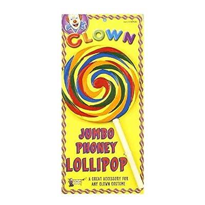 "Forum Novelties Jumbo 9"" Tall Phoney Lollipop Novelty: Toys & Games"