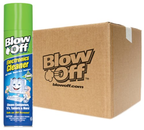 Blow Off EC-222-222-12PK Electronic Cleaner - 8 oz., (Pack of 12)