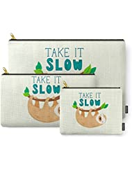 Society6 Sloth Carry-All Pouch
