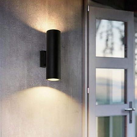 MAONB Estilo Nórdico Luz LED De Pared Simple IP65 Lámparas De Pared For Exteriores A Prueba