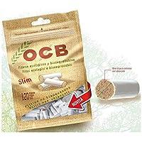 OCB - Boquillas de filtro para cigarrillos (material