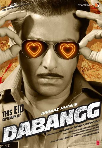 - Dabangg POSTER Movie (11 x 17 Inches - 28cm x 44cm) (2010) (Indian Style C)