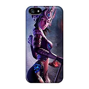 LJF phone case Case Cover Sacred 2 Fallen Angel/ Fashionable Case For Iphone 5/5s