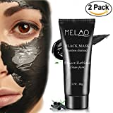 Boscia Luminizing Black Mask Bebemad 2 pack Blackhead Remover Mask [ removes blackheads ] purifying black pore removal peel off strip charcoal mask for face nose professional Deep Cleansing premium suction black mud mask 60 g